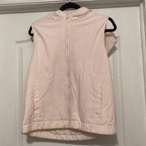 Light Pink GAP Hooded Vest
